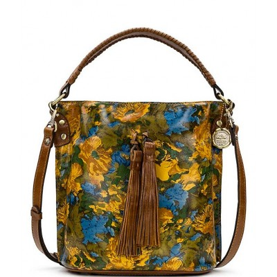 Wildflower Collection Otavia Floral Printed Leather Bucket Bag Wildflower 20143067