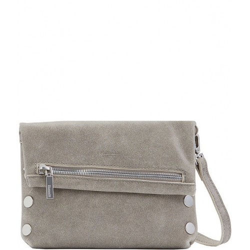 VIP Small Leather Crossbody Bag Pewter/BS 20002369