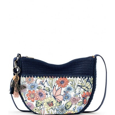 EcoTwill Collection Ryder Crescent Crossbody Bag Multi in Bloom 20145349