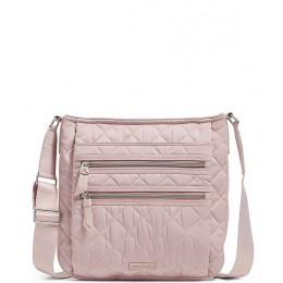 Performance Twill Collection Triple Zip Hipster Crossbody Bag Dover Mauve 20089550