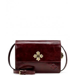 Vintage Patent Collection Consilina Floret Turn-lock Crossbody Bag Red 20117961
