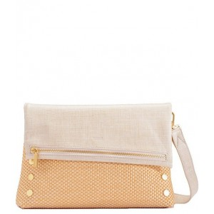 Womens VIP Fold Over Large Studded Leather Zip Flap Crossbody Bag All 20149955