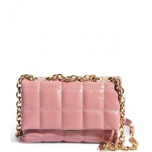 Women's We Slay Small Quilted Chain Strap Shoulder Bag Pink 20120168