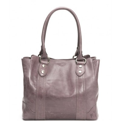 Melissa Washed Leather Tote Bag Amethyst 04504675
