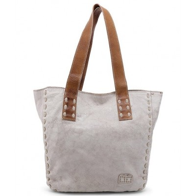 Stevie Leather Pick Stitch Tote Bag Nectar Lux Tan Rustic 04547241