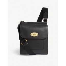 MULBERRY Women's Antony small grained-leather messenger bag Fit PC1OX2LF