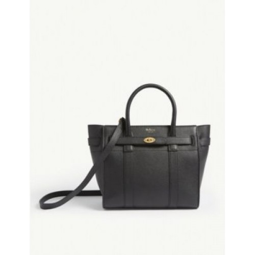 MULBERRY Women's Bayswater mini grained-leather tote bag FCDRLAGN