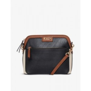 DUNE Womens Dollar faux-leather cross-body bag new in MBPMOPSM