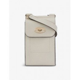 MULBERRY Antony small grained-leather cross-body bag Cut Off WTFYV3BI