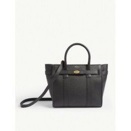 MULBERRY Bayswater mini grained-leather tote bag Discount US4VQO53