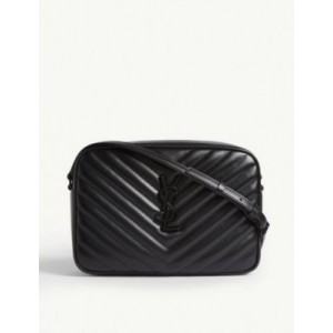 SAINT LAURENT Women's Lou quilted leather camera bag Online Wholesale 2VZFAQMQ