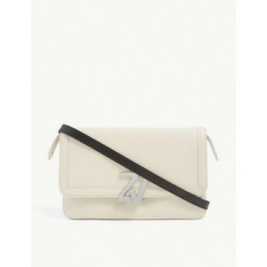 ZADIG&VOLTAIRE ZV Initiale leather clutch bag Top Sale X1681TVA