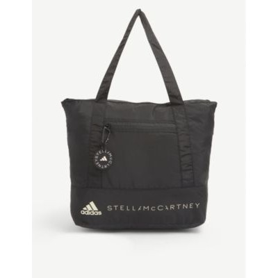 ADIDAS BY STELLA MCCARTNEY Logo-embellished recycled-polyester tote bag 28Q3ATHX