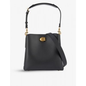 COACH Women Willow pebbled leather bucket bag KN47LESS