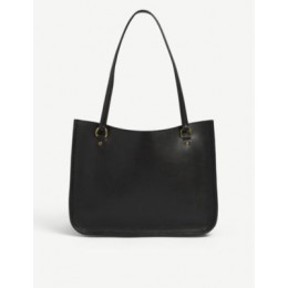 COACH Womens Tyler leather tote bag FZHYPJUO