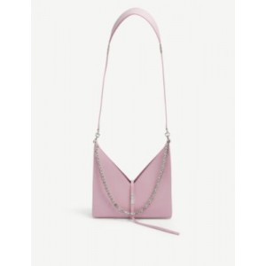 GIVENCHY Women Cut-Out chain-embellished small leather shoulder bag most comfortable K3H2E5VO