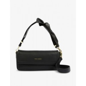 TED BAKER Sinitaa soft-knotted leather shoulder bag Cheap VBLVSZTN