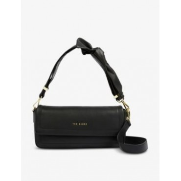 TED BAKER Women Sinitaa soft-knotted leather shoulder bag Trending WMONK5PS