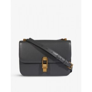 SAINT LAURENT Women Carre leather shoulder bag on style 6BY3SI51