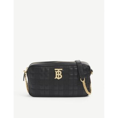 BURBERRY Logo quilted-leather camera bag 2021 Trends IVO4G241