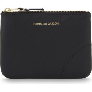 COMME DES GARCONS Womens Small zipped leather pouch stores 5EX3UGDR