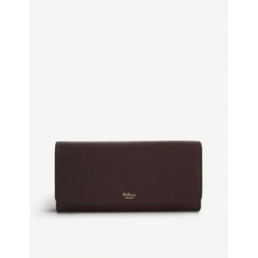 MULBERRY Grained-leather continental wallet New Look 3EF1II3G