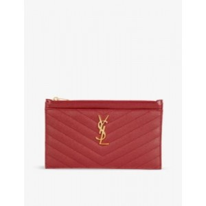 SAINT LAURENT Women Monogram quilted leather purse Collection E4BWHLJG