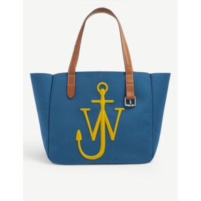 JW ANDERSON Women Belt branded recycled-canvas tote bag hot topic CE6VWJAX