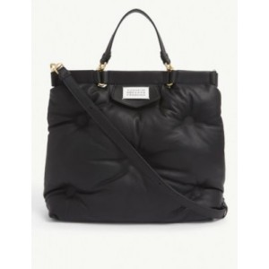 MAISON MARGIELA Glam Slam quilted leather tote bag outfits 8QPSRQU6