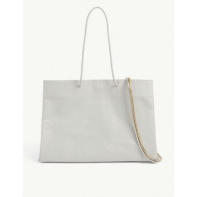 MEDEA Dieci Busted leather tote bag 8SYNWQBP