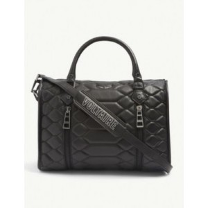 ZADIG&VOLTAIRE Womens Sunny medium quilted-leather bowling bag online shopping OUUOOAPQ