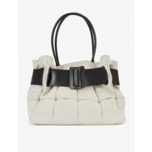 BOYY Womens Bobby cotton and leather tote bag outlet HM77M6SD