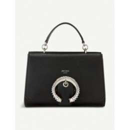 JIMMY CHOO Madeline leather top-handle bag Fitted KYJCP3MY