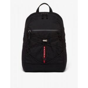 PRADA LINEA ROSSA Padded recycled-shell backpack cool designs CODBUL2N