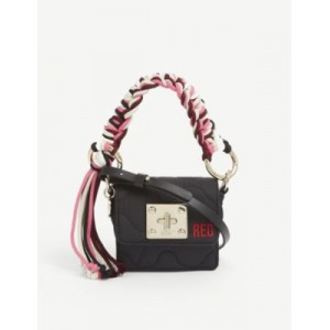 RED VALENTINO Women's Scooby mini nylon shoulder bag on clearance O3FH4PU1