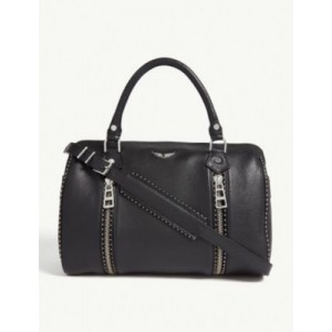 ZADIG&VOLTAIRE Sunny studded leather bowling bag on sale online HZ4D6O7E