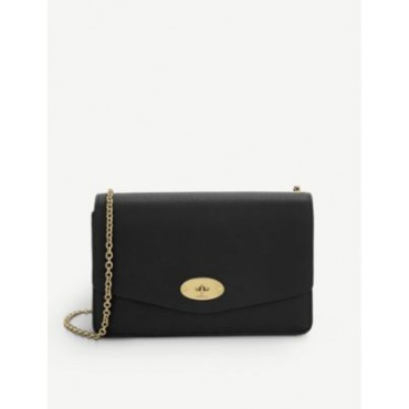 MULBERRY Women Darley small grained-leather clutch bag 8QUKCZE5