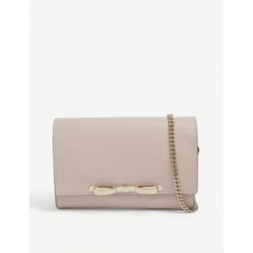 RED VALENTINO Women Bow leather clutch bag FALUEOFH