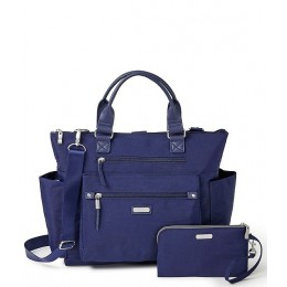 3-in-1 Convertible Backpack with RFID Phone Wristlet Navy 05841987