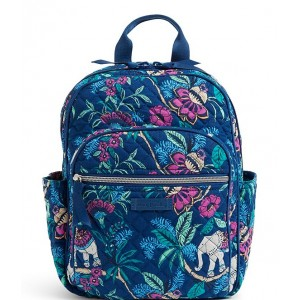 Icon Small Quilted Backpack Kerala Elephants 20073353