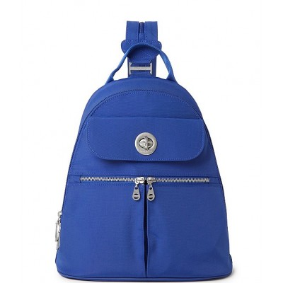 International Collection Naples Fabric Convertible Backpack Cobalt 20030970