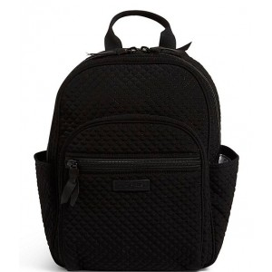 Microfiber Collection Small Backpack Bag Classic Black 20092051