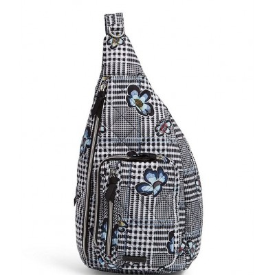 Women Performance Twill Collection Park Stripe Sling Backpack Bedford Plaid 20058215