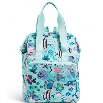 Women Reactive Collection Cooler Backpack Paisley Wave Fish 20058171