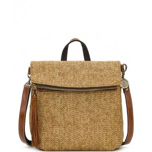 Women Seasonal Collection Luzille Straw Backpack Natural 20150649