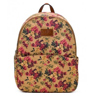 Womens Antique Rose Collection Turi Canvas Backpack Antique Rose 20119164