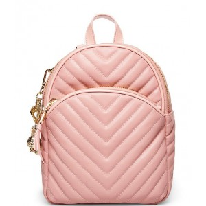 Women's Pretty in Pastels Quilted Medium Backpack Blush 20154166