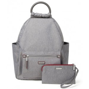 Women's RFID All Day Backpack Stone 05589280