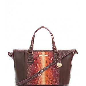 Womens Gables Collection Mini Asher Tasseled Tote Bag Sunset 20119887